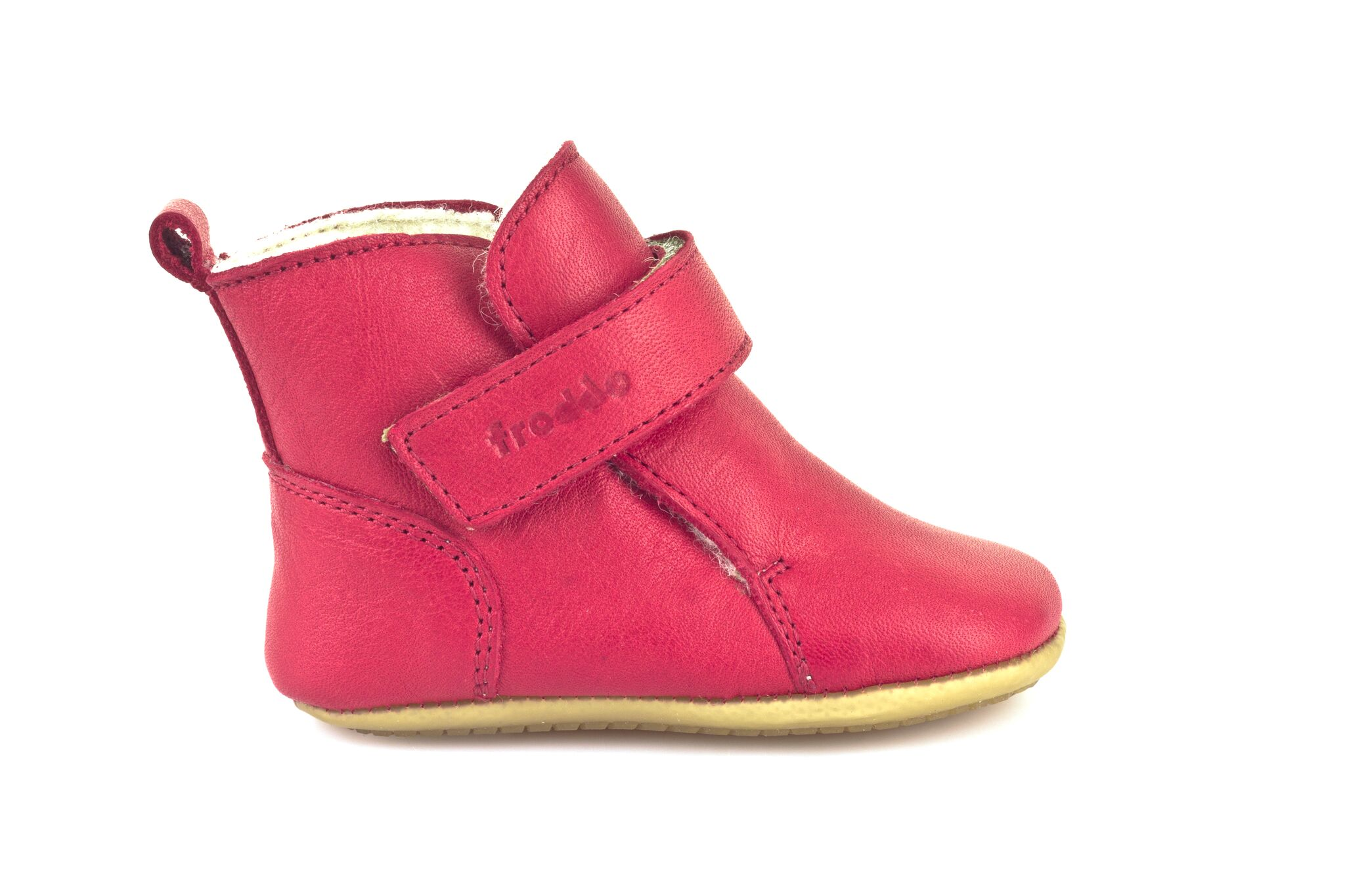 30c4bdea80 Froddo Prewalkers zimní červené G1160001-4K vel. 24. Lehounká a velmi  ohybná kožená obuv.