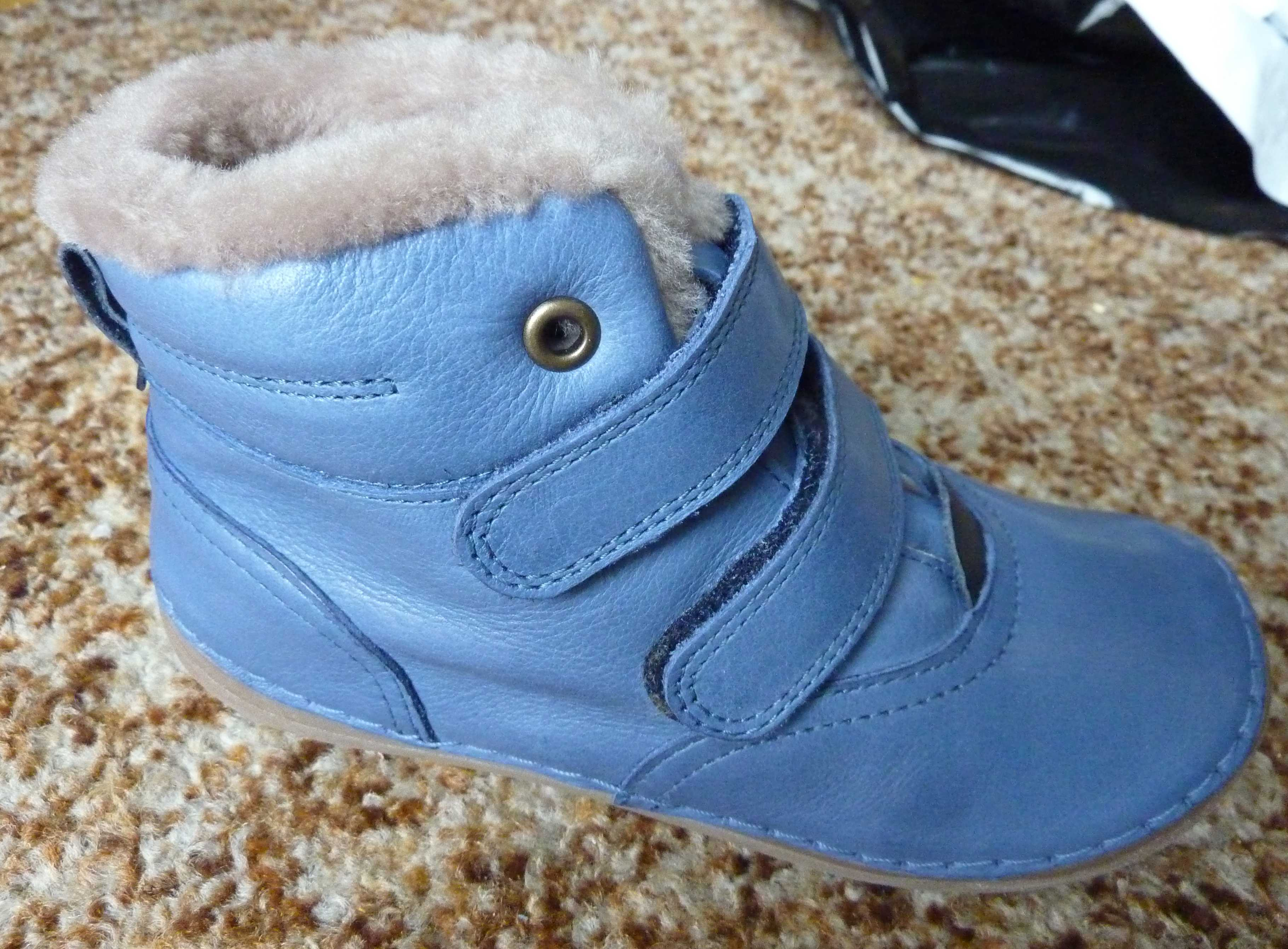 Zimní barefoot obuv   Froddo zimní boty modré G2110058-K vel. 30 fe522d65ae