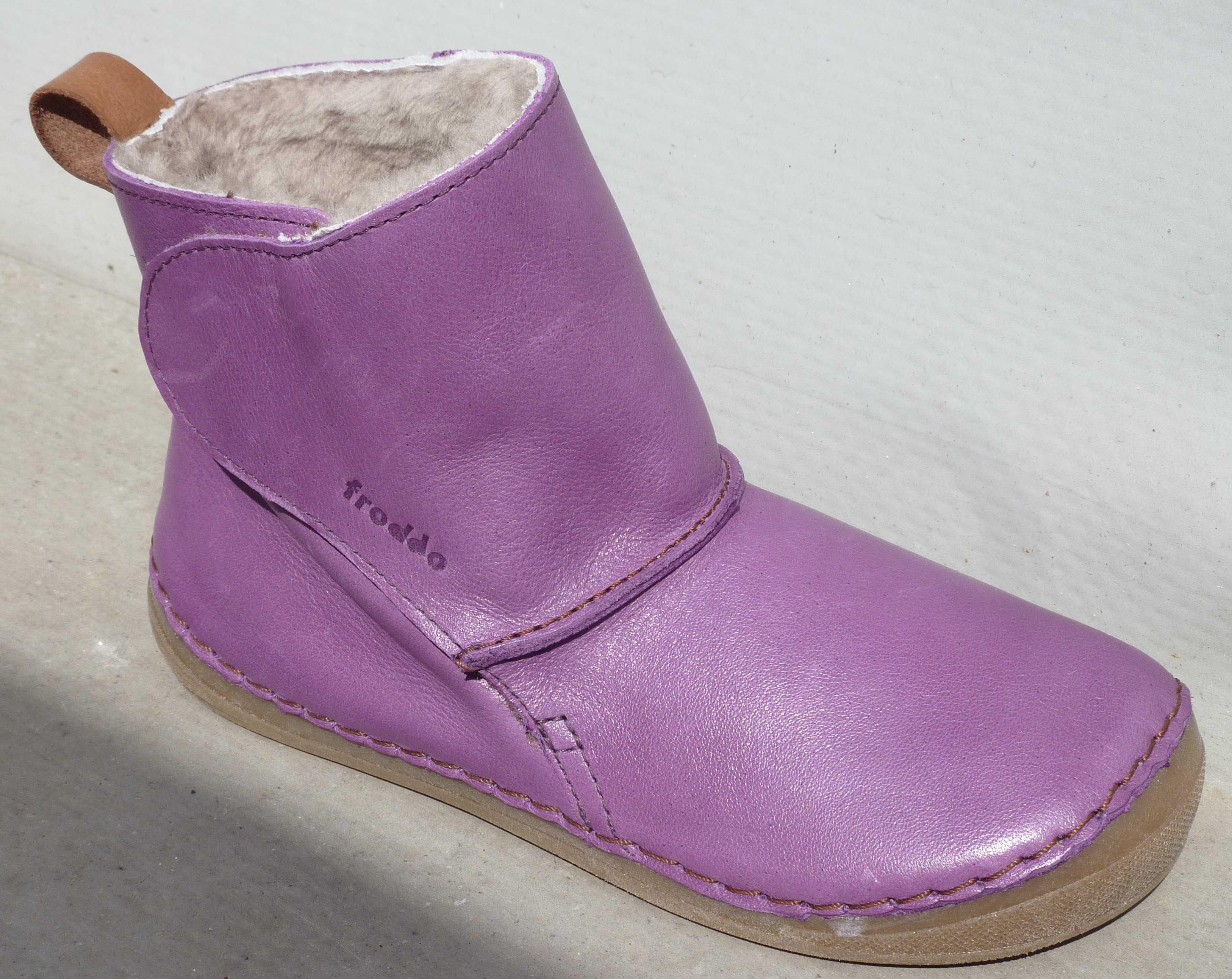 Zimní barefoot obuv   Froddo zimní kozačky fialové G2110028-7K vel ... 6cc14e0d8d