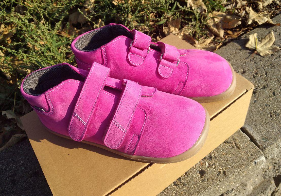 18c20c2f103 Celoroční barefoot obuv   BEDA - kotníkové JANETTE broušené s membránou (BF  0001 W M )
