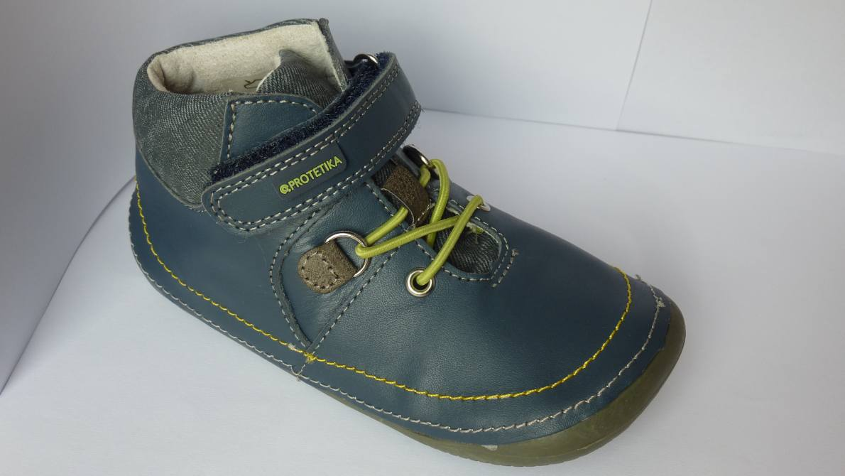 Celoroční barefoot obuv   Protetika Lens Green vel.19-23 83641c6119e